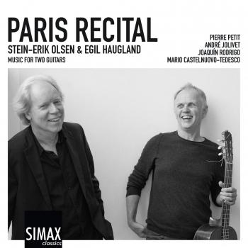 Cover Paris Recital