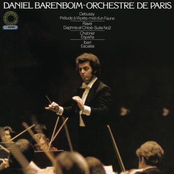 Cover Daniel Barenboim Conducts Works by Ravel, Debussy, Ibert & Chabrier (Remastered)