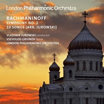 Cover Rachmaninoff: Symphony No. 3 in A Minor, Op. 44 & 10 Songs