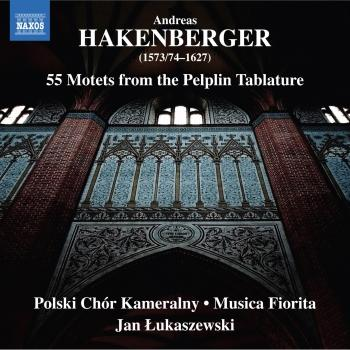 Cover Hakenberger: 55 Motets from the Pelplin Tablature