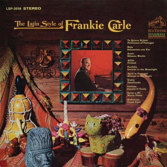 Cover The Latin Style of Frankie Carle (Remaster)