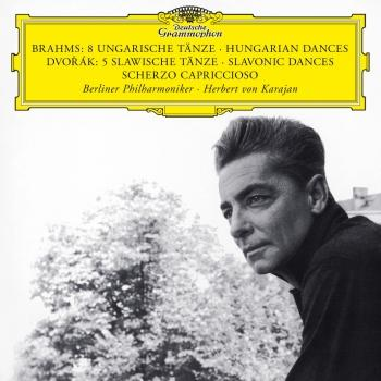 Cover Brahms: 8 Hungarian Dances / Dvorak: 5 Slavonic Dances; Scherzo Capriccioso (Remastered)