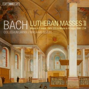 Cover Bach: Lutheran Masses, Vol. 2