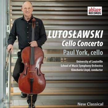 Cover Lutosławski: Cello Concerto