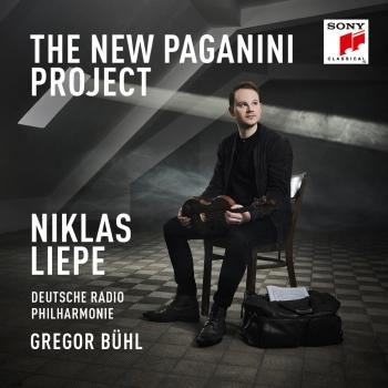Cover The New Paganini Project