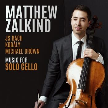 Cover JS Bach, Kodály, Michael Brown: Music for Solo Cello