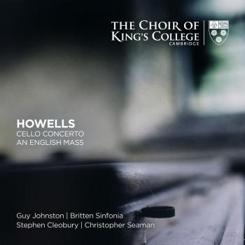 Cover Howells: Cello Concerto, An English Mass