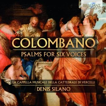 Cover Colombano: Psalms for Six Voices