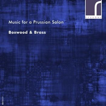 Cover Music for a Prussian Salon