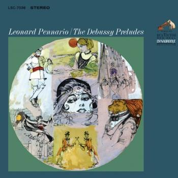 Cover Pennario Plays Debussy Preludes (Remastered)