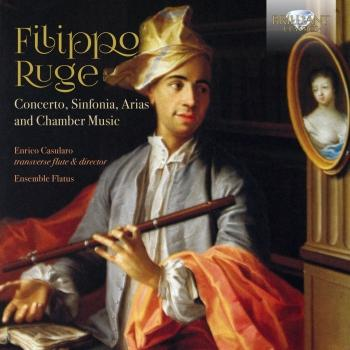 Cover Ruge: Concerto, Sinfonia, Arias and Chamber Music
