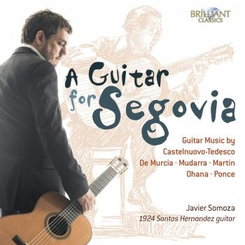 Cover A Guitar for Segovia