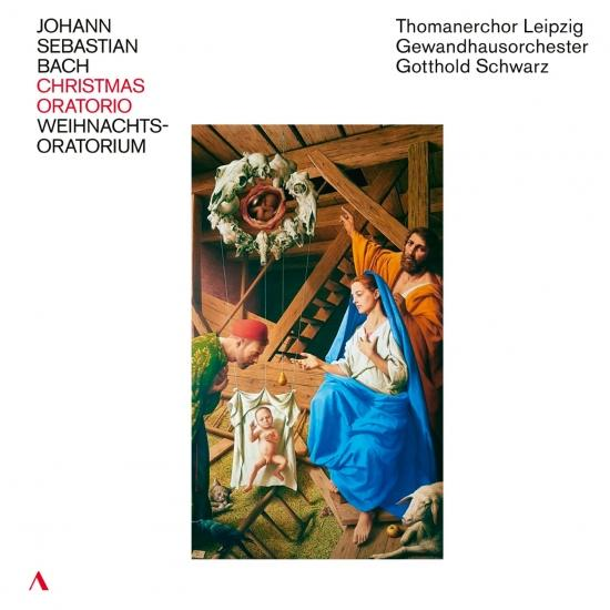 Cover J.S. Bach: Weihnachts-Oratorium, BWV 248 (Live)