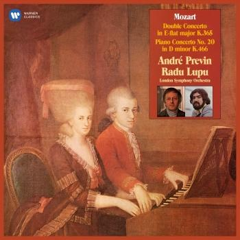 Cover Mozart: Concerto for Two Pianos, K. 365 & Piano Concerto No. 20, K. 466 (Remastered)