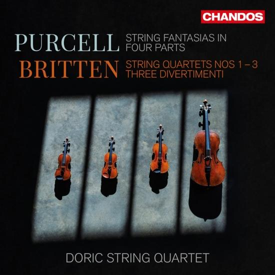 Cover Britten & Purcell: Chamber Works for Strings