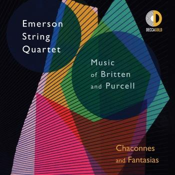 Cover Chaconnes and Fantasias: Music of Britten and Purcell