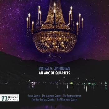 Cover Michael G. Cunningham: An Arc of Quartets