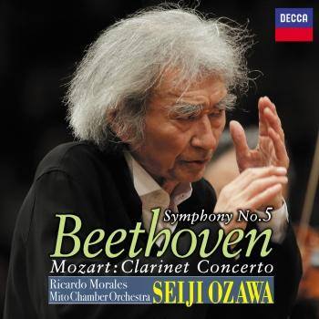 Cover Beethoven: Symphony No.5, Mozart: Clarinet Concerto (Live At Concert Hall, Art Tower Mito / 2016)