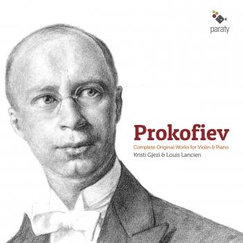 Cover Prokofiev: Complete Original Works for Violin & Piano