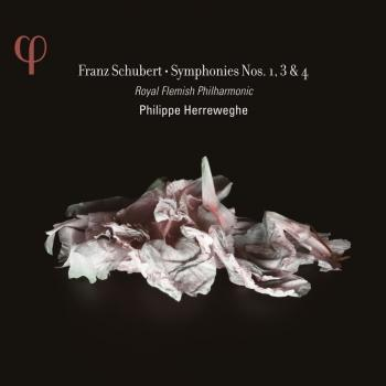 Cover Schubert: Symphonies No. 1, 3 & 4