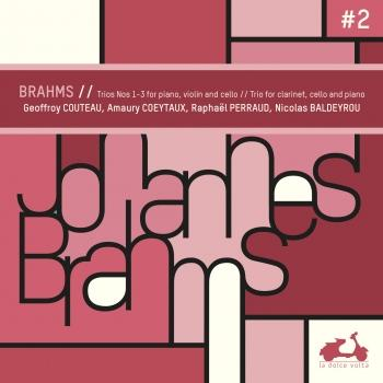 Cover Brahms: Trios Nos. 1-3 for Piano, Violin & Cello
