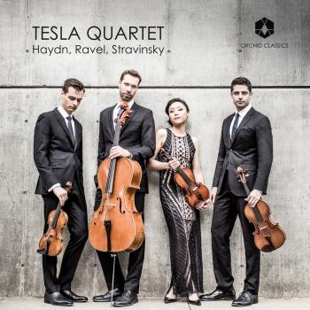 Cover Haydn, Ravel & Stravinsky: Works for String Quartet