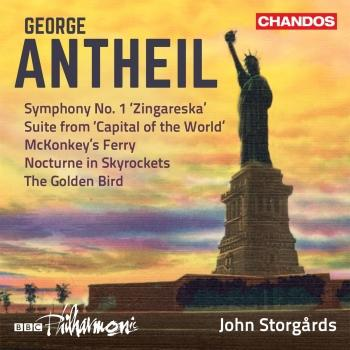 Cover Antheil: Orchestral Works, Vol. 3