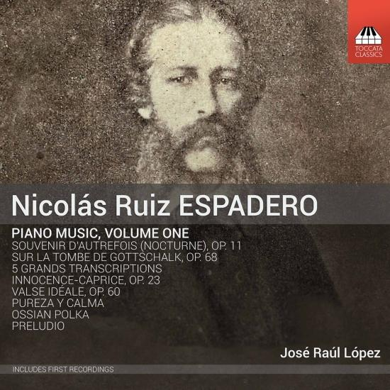 Cover Espadero: Piano Music, Vol. 1