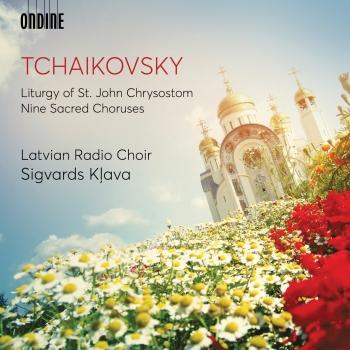 Cover Tchaikovsky: Liturgy of St. John Chrysostom, Op. 41, TH 75 (Excerpts) & 9 Sacred Pieces, TH 78