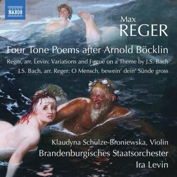 Cover Reger: Orchestral Works