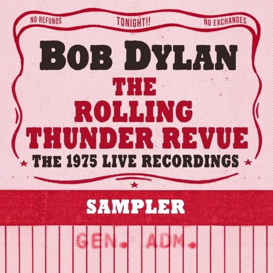 Cover The Rolling Thunder Revue: The 1975 Live Recordings (Remastered Sampler)