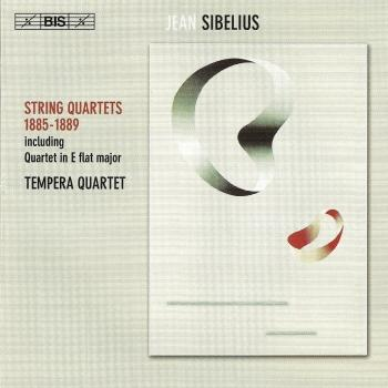 Cover Sibelius: String Quartet in E-Flat Major / Theme and Variations in C-Sharp Minor