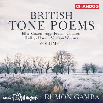 Cover British Tone Poems, Vol. 2