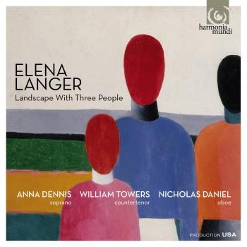 Cover Elena Langer: Landscape With Three People