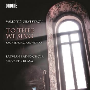 Cover Silvestrov: To Thee We Sing