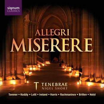 Cover Allegri: Miserere / Holst: Psalm 148
