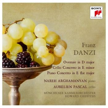 Cover Danzi: Ouverture, Cello Concerto & Piano Concerto