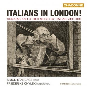 Cover Italians in London!