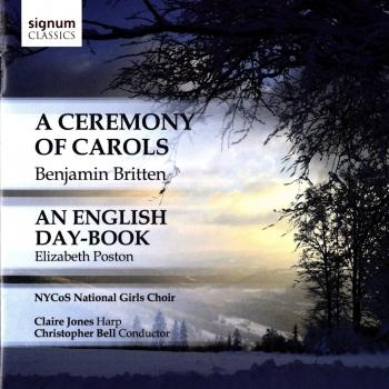 Cover Britten: A Ceremony of Carols - Poston: An English Day-Book
