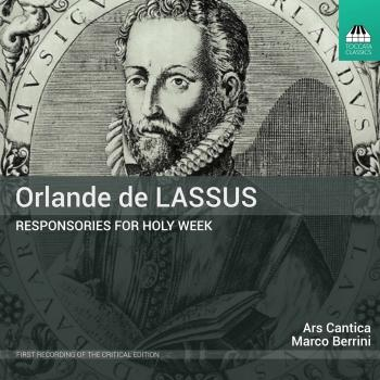 Cover Lassus: Responsories for Holy Week