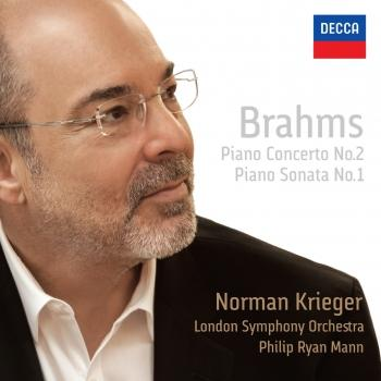 Cover Brahms: Piano Concerto No. 2 / Piano Sonata No. 1