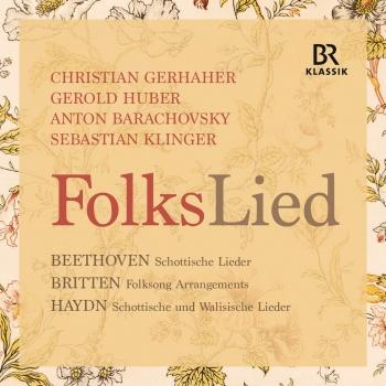 Cover Beethoven, Britten & Haydn: FolksLied (Live)