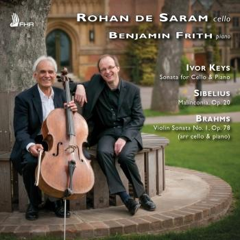 Cover Keys, Sibelius & Brahms: Works for Cello & Piano