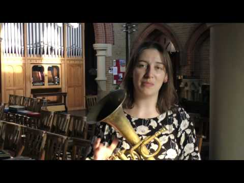 Video The Prince Regent's Band introduces the tenor saxhorn in E flat