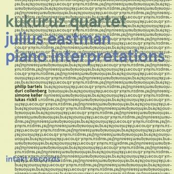 Cover Julius Eastman: Piano Interpretations