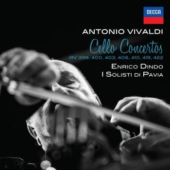 Cover Vivaldi: Cello Concertos RV 399, 400, 403, 406, 410, 419, 422