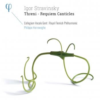 Cover Stravinsky: Threni & Requiem Canticles
