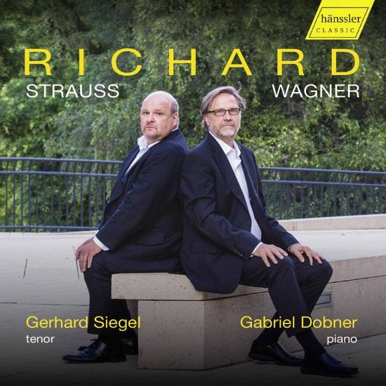 Cover R. Strauss & Wagner: Art Songs