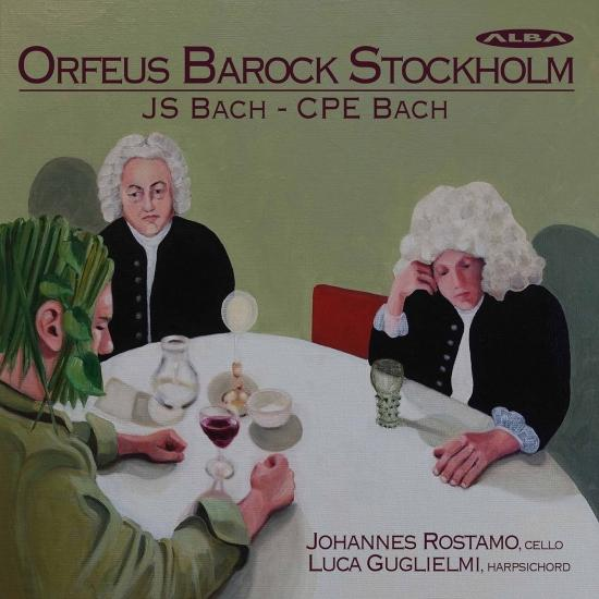 Cover J.S. Bach & C.P.E. Bach: Works