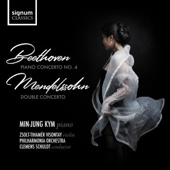 Cover Beethoven: Piano Concertos No. 4 - Mendelssohn: Concerto for Violin and Piano